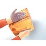 Gants de précision / manutention coton à picots adérants