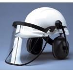 Porte-écran pour casque de protection type Brennus et Centurion