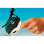 Boite de 100 collerettes absorbant la transpiration pour casque antibruit Hellberg