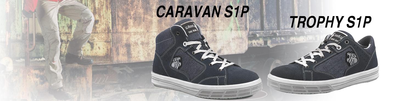 Chaussures de sécurité TROPHY S1P & CARAVAN S1P