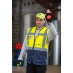 Gilet de signalisation multipoches EXECUTICE C476 jaune fluo by Portwest