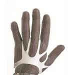 Fixe-gants cotte de maille permet l'ajustement du gant à la main