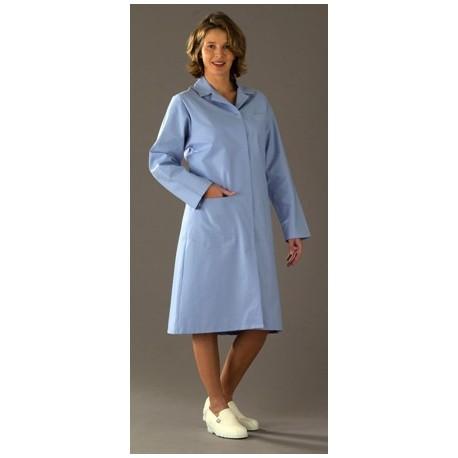 blouse madona manches longues uni blanc protecnord blouses femme. Black Bedroom Furniture Sets. Home Design Ideas