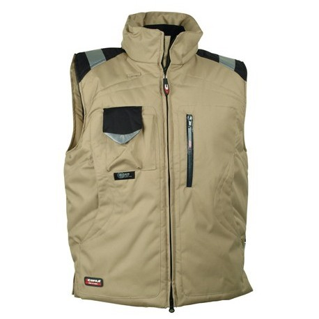 Gilet de froid multipoches POLAR beige by Cofra
