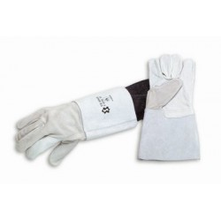 Gants protection thermique FLEUR et CROUTE SOUDEUR Manchette 15cm