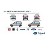 Kit balisage sécurité pour véhicule
