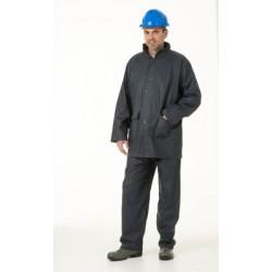 Ensemble de pluie (veste + pantalon) POLYURETHANE marine