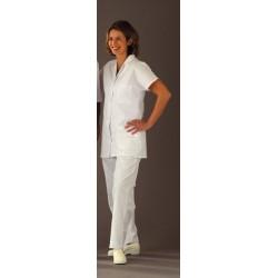 Pantalon de travail médical mixte