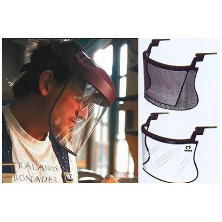Pare-visage SAFE 3 avec visière polycarbonate ou nylon