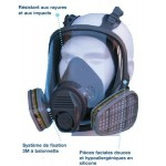 Masque complet respiratoire 6800 by 3M