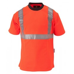 TEE-SHIRT HV YARD ORANGE FLUO