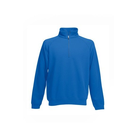 Sweat col Zip by Fruit of the Loom