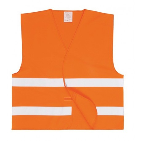 Gilet voiture jaune ou orange