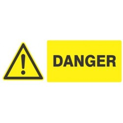 Panneau « Danger » by Taliaplast