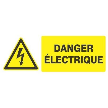 Panneau « Danger électrique » by Taliaplast