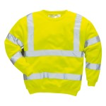 SWEAT SHIRT FLUO JAUNE B303