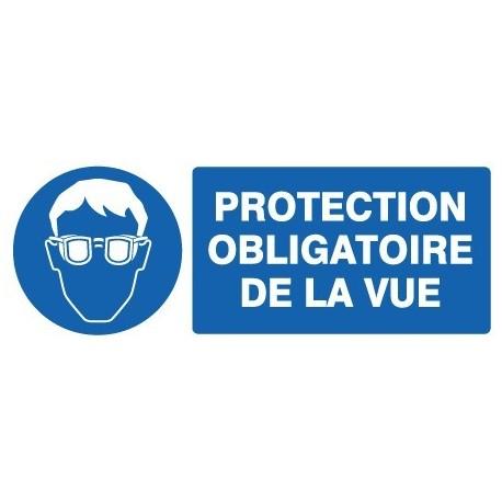 Panneau « Protection obligatoire de la vue » by Taliaplast