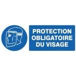 Panneau « Protection obligatoire du visage » by Taliaplast