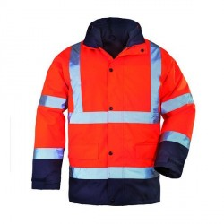 PARKA ROADWAY 4 EN 1 HV ORANGE/MARINE