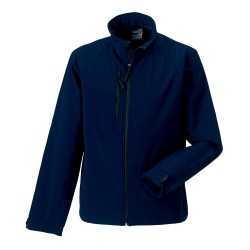 VESTE SOFTSHELL MARINE - R-140M-O TOP-TEX
