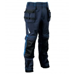 PANTALON LEIRIA bleu navy/royal