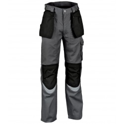 PANTALON TRAVAIL BRICKLAYER ANTHRACITE MULTIPOCHES - COFRA