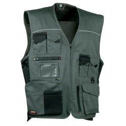 GILET TRAVAIL MULTIPOCHES EXPERT SANS MANCHES - COFRA