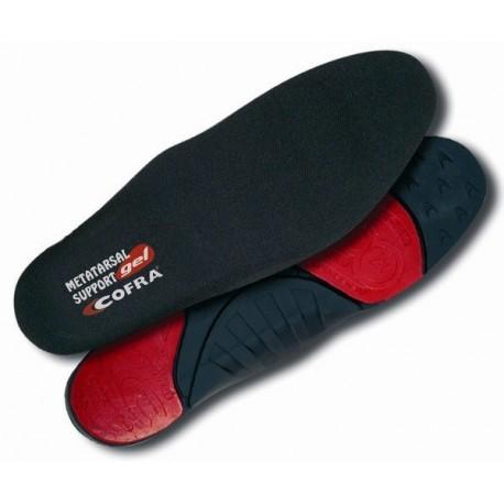 Semelle ergonomique soutien métatarsal gel by Cofra
