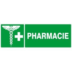 """PANNEAU PVC """"PHARMACIE"""" - 330X120MM"""