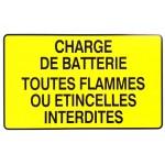 """PANNEAU """"CHARGE DE BATTERIE"""
