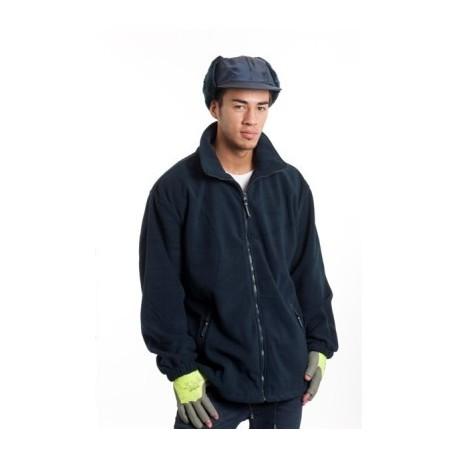 Veste polaire de travail 1er prix marine