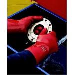 Gants de protection chimique PVC 35cm