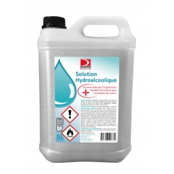 SOLUTION HYDRO-ALCOOLIQUE DÉSINFECTANTE ANTISEPTIQUE 5L