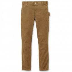 PANTALON FEMME STRETCH TWILL DOUBLE FRONT 104296 - CARHARTT