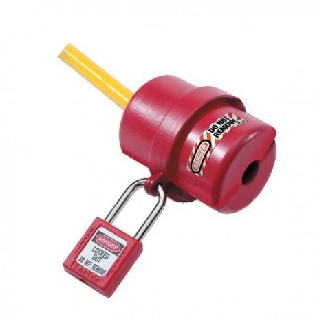 Consignation pour petites prises électriques (120 à 240 Volts) 487 by Master Lock