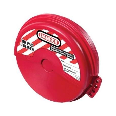 Consignation de vannes à volant - Pour des vannes de diamètre 10.83 à 17.60cm