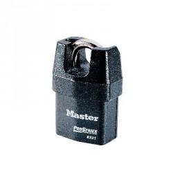 Lot de 4 cadenas acier à anse protegee 6321 Master Lock