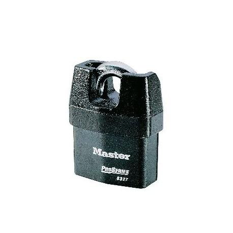 Lot de 6 cadenas acier à anse protégée 6325 by Master Lock
