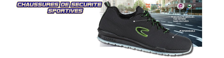 Chaussures de sécurité SPORTIVES MONTI S3