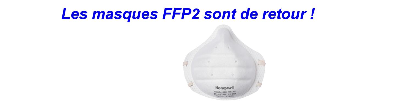 Les masques FFP2 sont de retour !